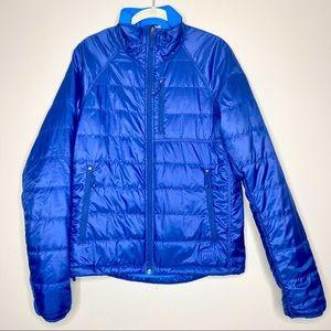 REI Men's Blue Puffer Coat size S